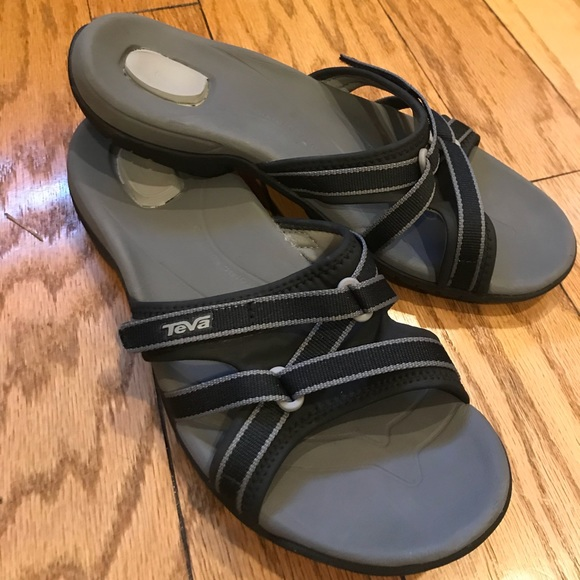 4b44cf038435 Teva Shoes - Teva Tirra Slides  like new